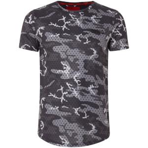 Camiseta DFND Mesh Camo - Hombre - Gris