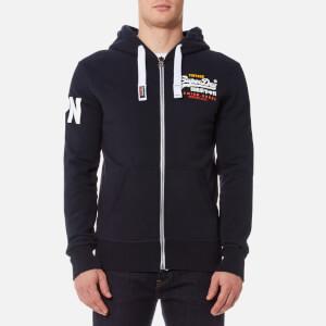 Superdry Men's Premium Goods Zip Hoody - Stadium Navy