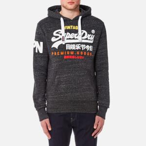 Superdry Men's Premium Goods Tri Hoody - Asphalt Snowy