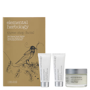 Elemental Herbology Three Step Facial (Worth £74.00)