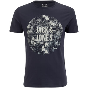 Jack & Jones Men's Originals Newport T-Shirt - Total Eclipse
