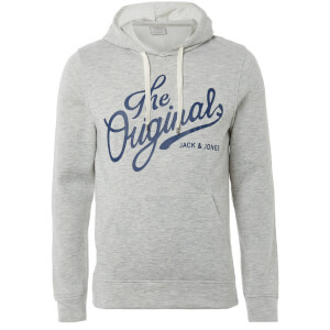 Jack & Jones Originals Men's Panther Hoody - Grey