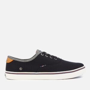 Wrangler Men's Legend Board Canvas Trainers - Black