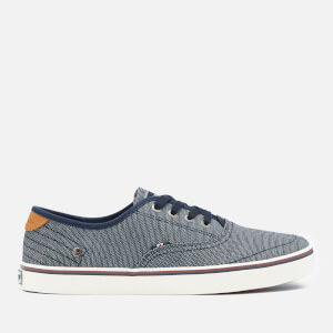 Wrangler Men's Legend Board Canvas Trainers - Blue Japan
