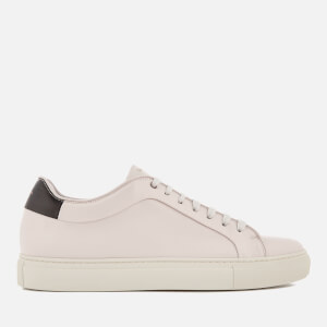 Paul Smith Men's Basso Leather Cupsole Trainers - Quiet White