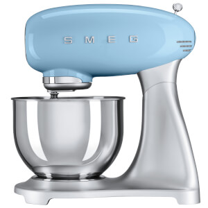 Smeg SMF01PBUK Stand Mixer - Pastel Blue