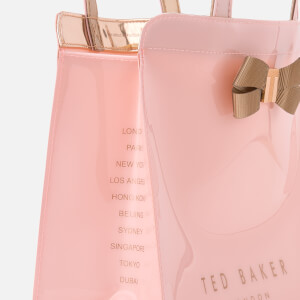 Ted Baker Women's Bow Detail Small Icon Bag - Pale Pink: Image 4