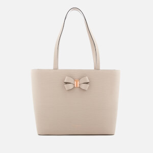 Ted Baker Women's Cattas Bow Detail Small Shopper Bag - Taupe