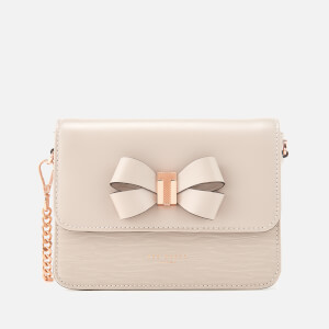 Ted Baker Women's Calliih Bow Detail Cross Body Bag - Taupe
