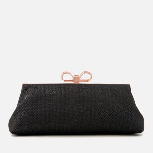 Ted Baker Women's Glitter Bow Evening Bag - Black