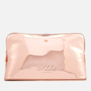 Ted Baker Women's Lauran Mirrored Wash Bag - Rose Gold