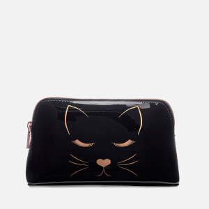 Ted Baker Women's Linear Cat Makeup Bag - Black
