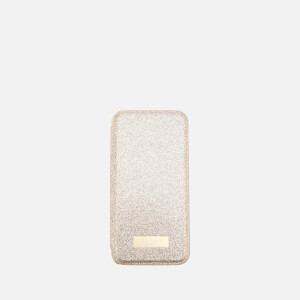 Ted Baker Women's Glitter iPhone Mirror Case - Gold