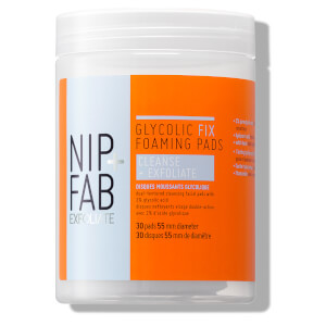 NIP+FAB Glycolic Fix Foaming Pads 95ml