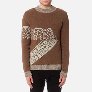 A.P.C. Men's Pull Zermatt Jumper - Gris Clair Chine
