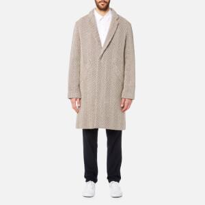 A.P.C. Men's Manteau Baron Coat - Noisette