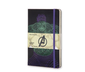 Moleskine - The Hulk Limited Edition Large Ruled Notebook