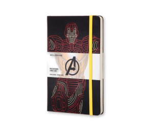 Moleskine - Iron Man Limited Edition Large Ruled Notebook