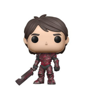 NYCC 17 Trollhunters Jim Red Armor EXC Pop! Vinyl Figure