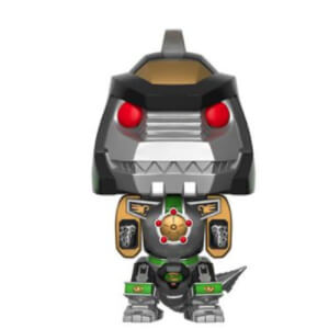 NYCC 17 Power Rangers Dragonzord Green 15cm EXC Pop! Vinyl Figure