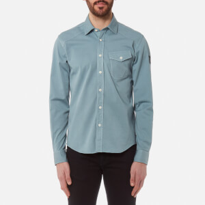 Belstaff Men's Steadway Long Sleeve Shirt - Light Chambray