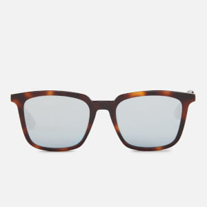 McQ Alexander McQueen Tortoise Shell Sunglasses - Havana/Gold/Light Blue