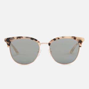 McQ Alexander McQueen Women's Rimless Base Sunglasses - Avana/Avana/Gold
