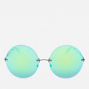 Christopher Kane Women's Round Frame Sunglasses - Green