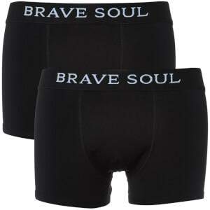 Lot de 2 Boxers Joshua Brave Soul - Noir
