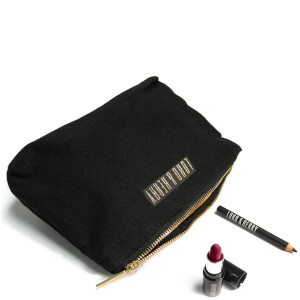 Lord & Berry Make Up Bag with Mini Kajal Eyeliner and MiniVogue Lipstick 70g