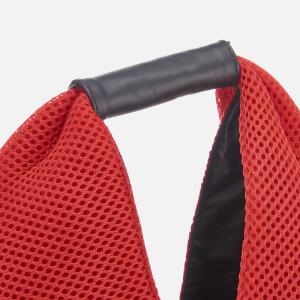 MM6 Maison Margiela Women's Japanese Net Fabric Bag - Red: Image 4