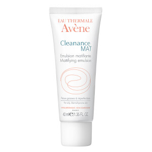 Avène Cleanance Mat Mattifying Emulsion Moisturiser for Oily, Blemish-Prone Skin 40ml