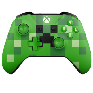 Manette Sans Fil Creeper Minecraft - Xbox