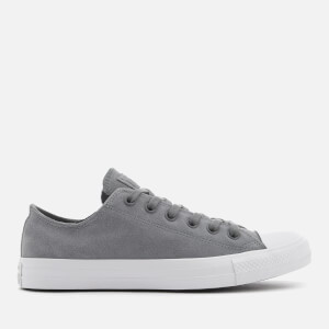 Converse Men's Chuck Taylor All Star Ox Trainers - Cool Grey/Cool Grey/White