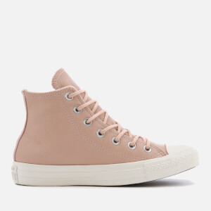 Converse Women's Chuck Taylor All Star Hi-Top Trainers - Dusk Pink/Dusk Pink.Egret