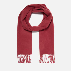 Barbour Lambswool Woven Scarf - Saffron