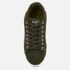 Superdry Women's Army Suede Trainers - Camo: Image 3