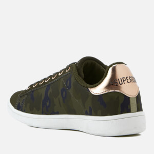 Superdry Women's Army Suede Trainers - Camo: Image 4