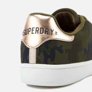 Superdry Women's Army Suede Trainers - Camo: Image 6