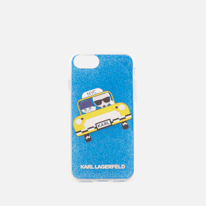 Karl Lagerfeld Women's NYC Taxi Phone Case - Navy