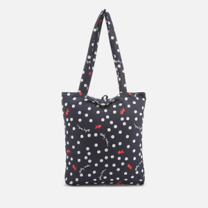 Radley Women's Vintage Dog Dot (Run On) Foldaway Tote Bag - Ink
