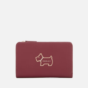 Radley Women's Heritage Dog Outline Medium Ziptop Purse - Berry