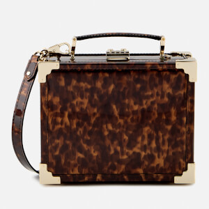 Aspinal of London Women's Mini Trunk Bag - Tortoiseshell