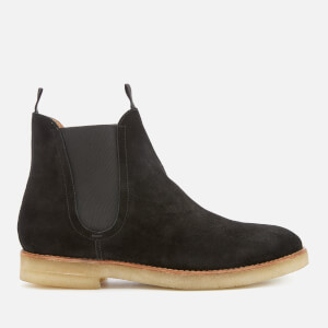 Hudson London Men's Sandgate Suede Chelsea Boots - Black