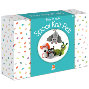 Smart Fox Jr. Easy to Make Spool Knit Pets