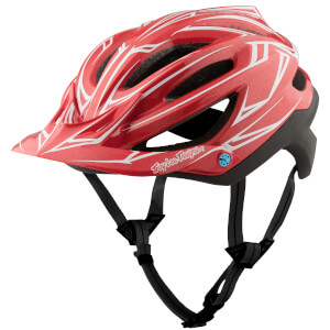 Troy Lee Designs A2 MIPS Pinstripe 2 MTB Helmet - Red