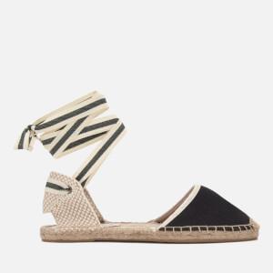 Soludos Women's Classic Espadrille Sandals - Black