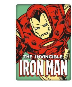 Aimant en Métal Iron Man Marvel