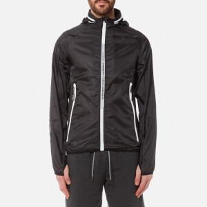 Superdry Sport Men's Core Rollaway Hooded Cagoule - Black
