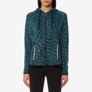 Superdry Sport Women's Sport Gym Tech Luxe Zip Hoody - Teal Marl